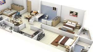 Resultado de imagen para distribucion de casas de 80 mts,2 2 recamaras