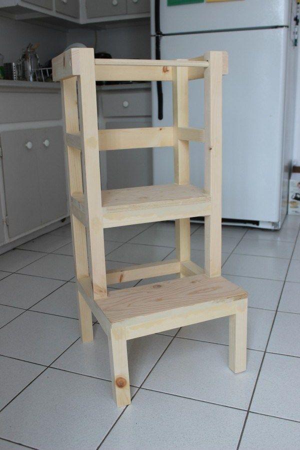 tabouret tour d 39 apprentissage maison tabouret enfant. Black Bedroom Furniture Sets. Home Design Ideas