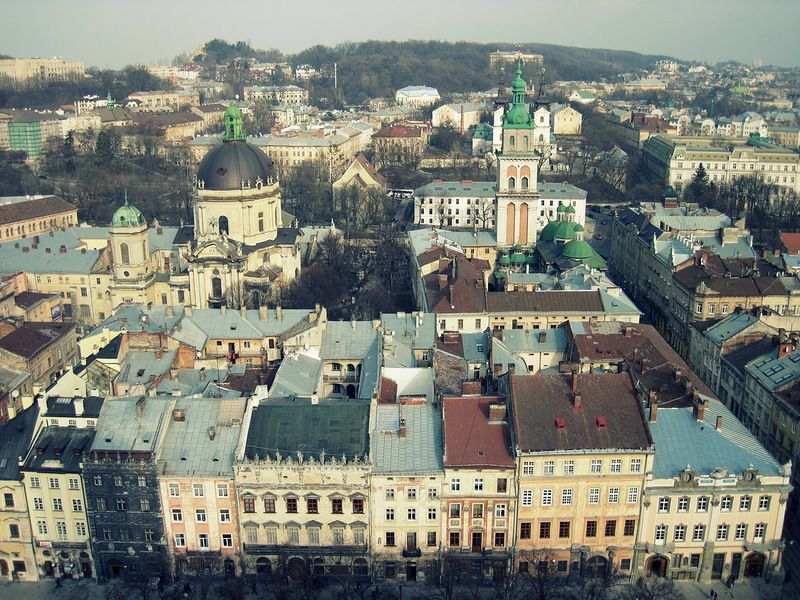 Lvov, Ukraine - where I'm from