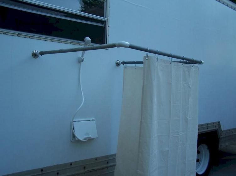 40 Awesome Bathroom Rvs And Camper, Outdoor Shower Enclosure Camping