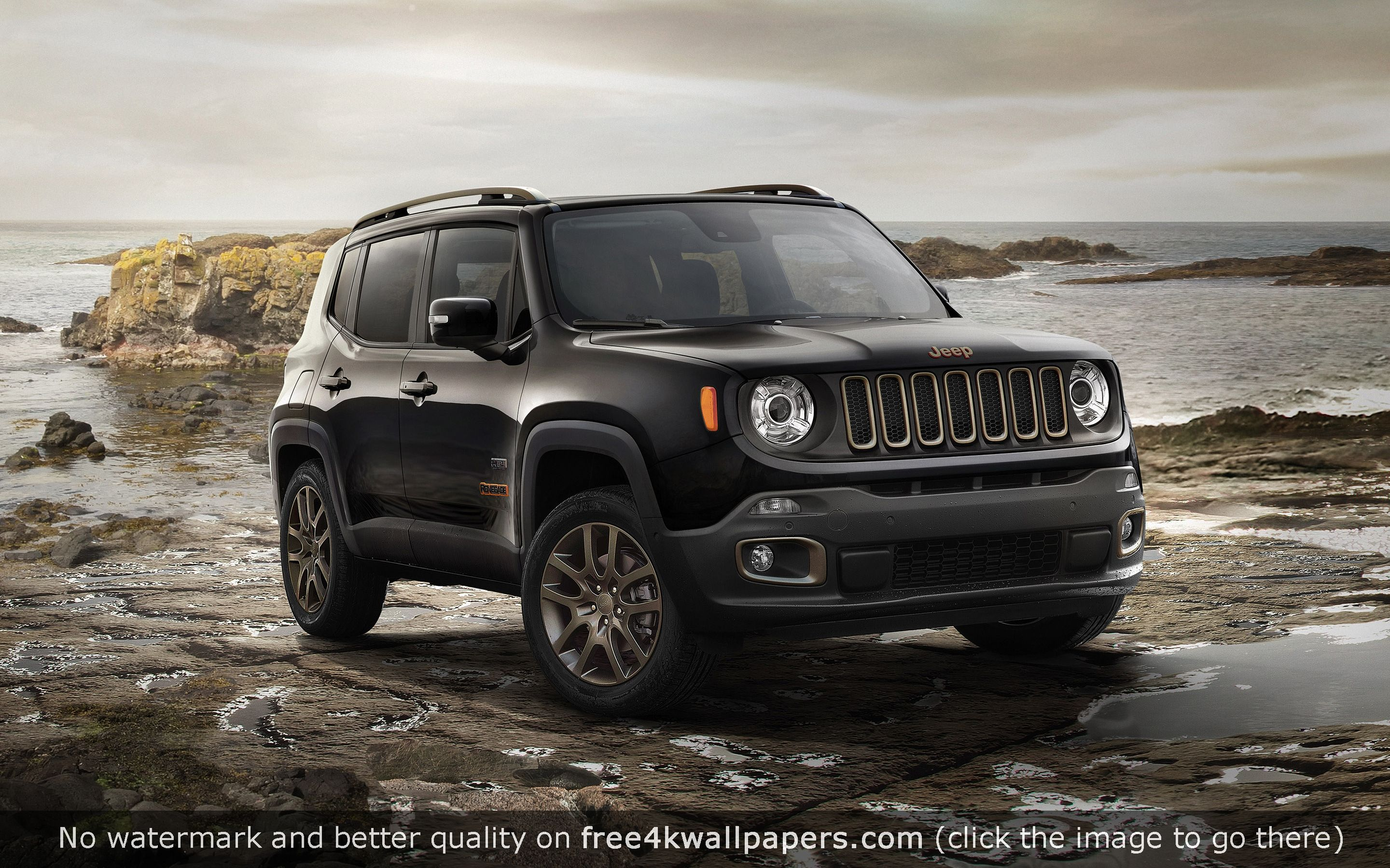 Jeep Renegade 75th Anniversary Model Wallpaper Jeep Renegade