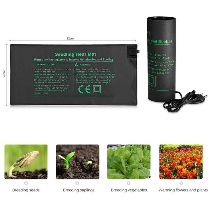 Indoor garden hydroponic 52x24cm waterproof plant seedling