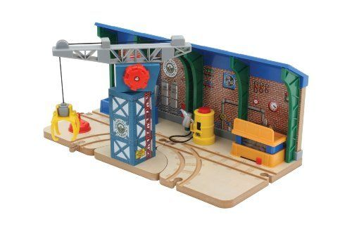 THOMAS /& FRIENDS WOODEN RAILWAY STOP /& GO TOWER TRACK for BRIO TRAIN SET