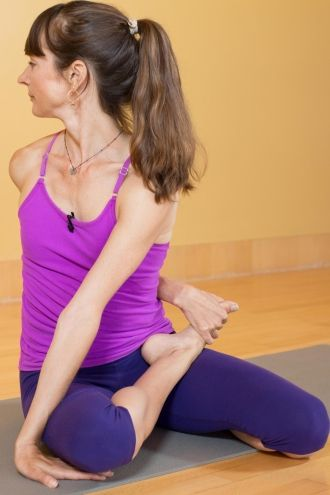finding the benefits of seated twists  twist yoga basic