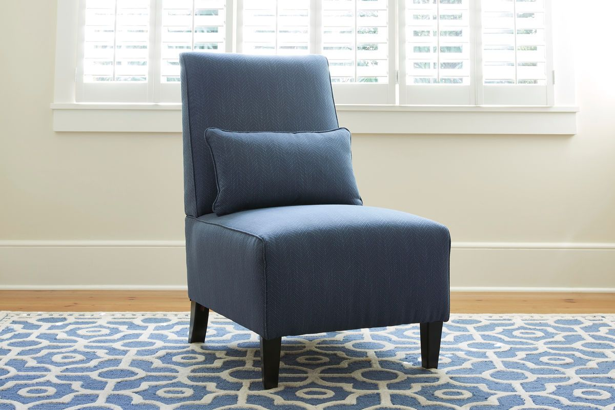 Armless Chair With Pillow Google Search In 2020 Armless Accent Chair Furniture Traditional Bedroom Furniture