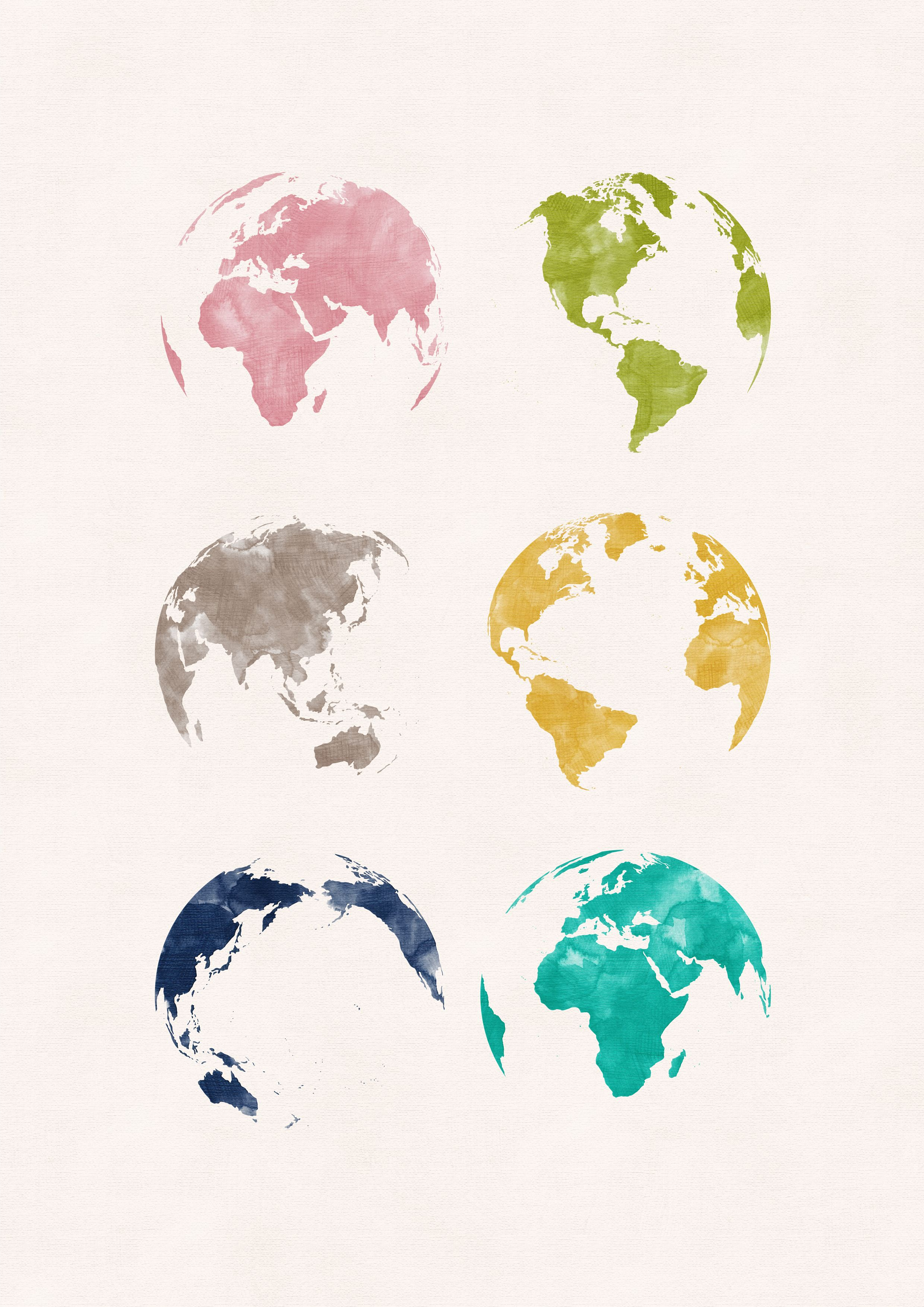 World map print download world map poster watercolor downloadable world map print print download globe poster world map poster poster watercolor gumiabroncs Image collections