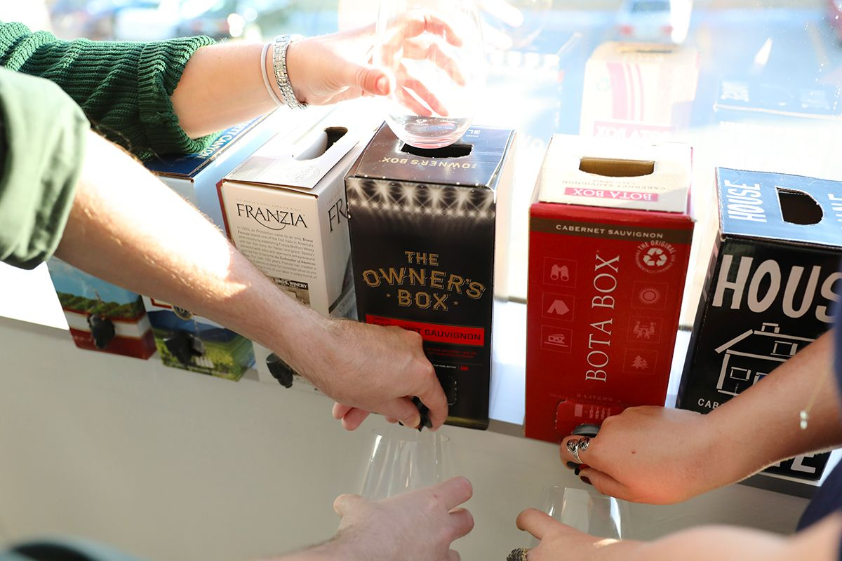 We Tasted 7 Boxed Wines So You Don T Have To Here S The Best One Wine Box Wine Tasting Wine Knowledge