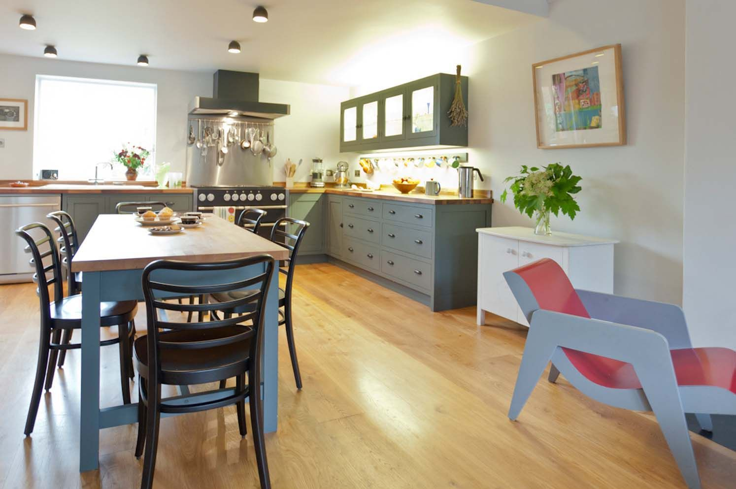 Prime Oak Flooring — post Bespoke kitchens, Engineered