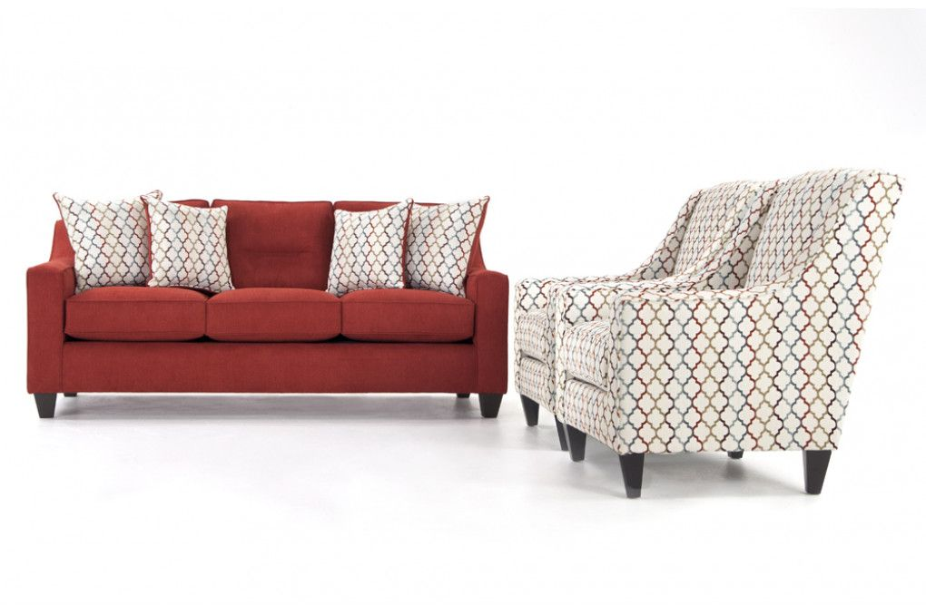 Fiesta Sofa 2 Accent Chairs Living Room Sets Living Room Bob S Discount Furniture Living Room Sets Cottage Furniture Discount Furniture
