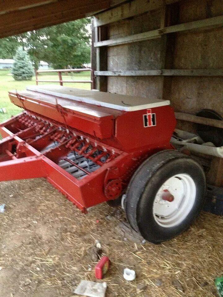 Ih 510 Grain Drill Farmall Tractors International Tractors