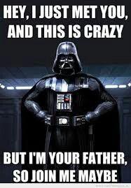 Darth Vader Meme I Guess Star Wars Meme Star Wars Instagram