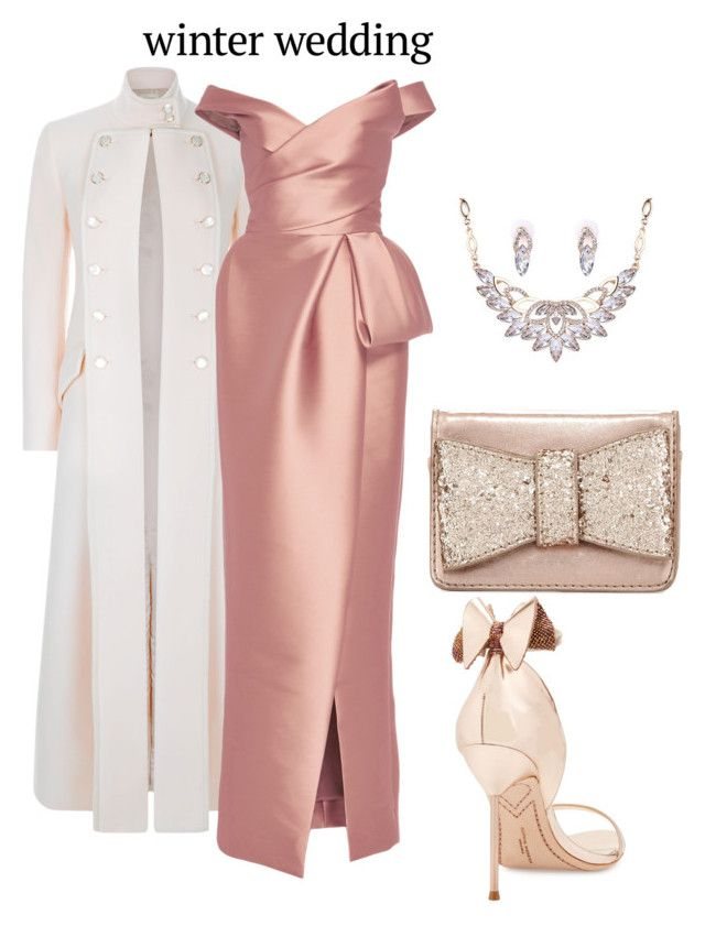 """""""Untitled #1671"""" by nadia-n-pow ❤ liked on Polyvore featuring Temperley London, Monique Lhuillier, Sophia Webster and Neiman Marcus"""