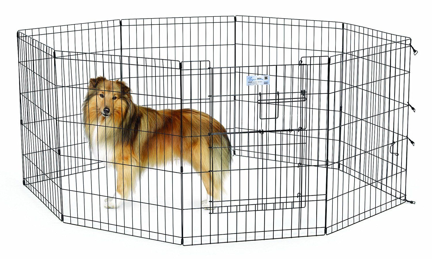 Midwest Homes For Pets Maxxlock Exercise Pen For Pets See This Great Image Dog Leash Large Dog Crate Pets Dog Door