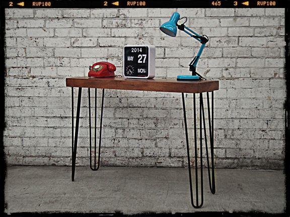 Retro Console Table Hairpin Legs Unique Furniture Decora 231 227 O