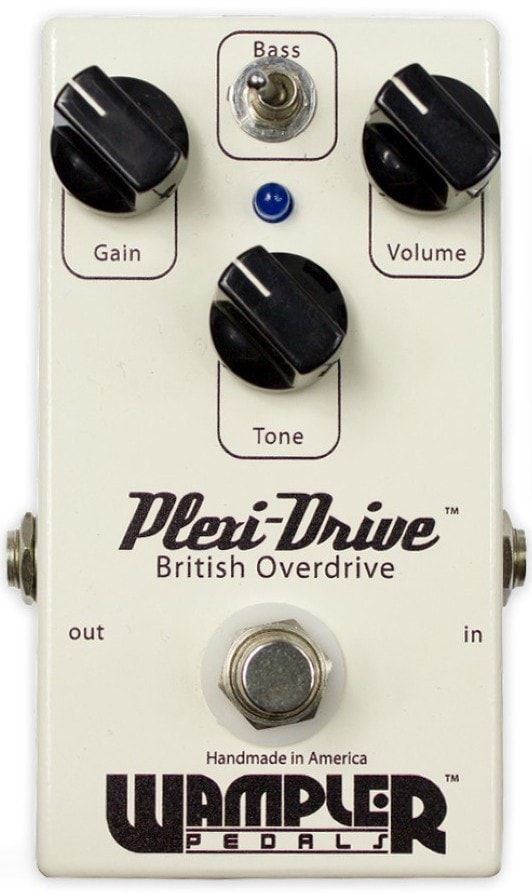 Wampler Plexi-Drive British Overdrive Effects Pedal