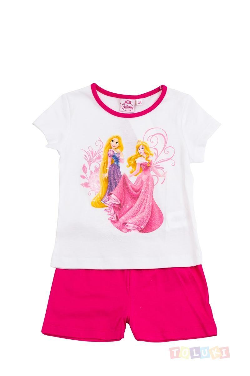 9ae6f16813057 Pyjama Fille Disney Princess Raiponce et Aurore http   www.toluki.com