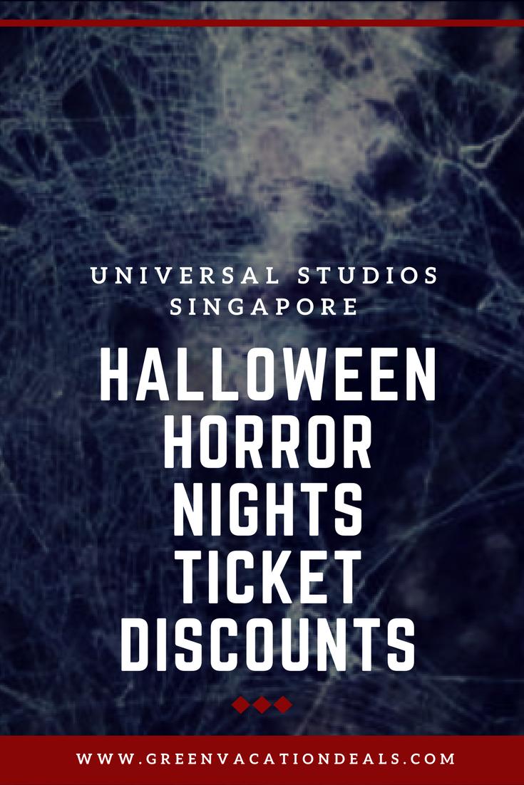 Halloween Horror Nights Ticket Discounts   Halloween horror nights ...