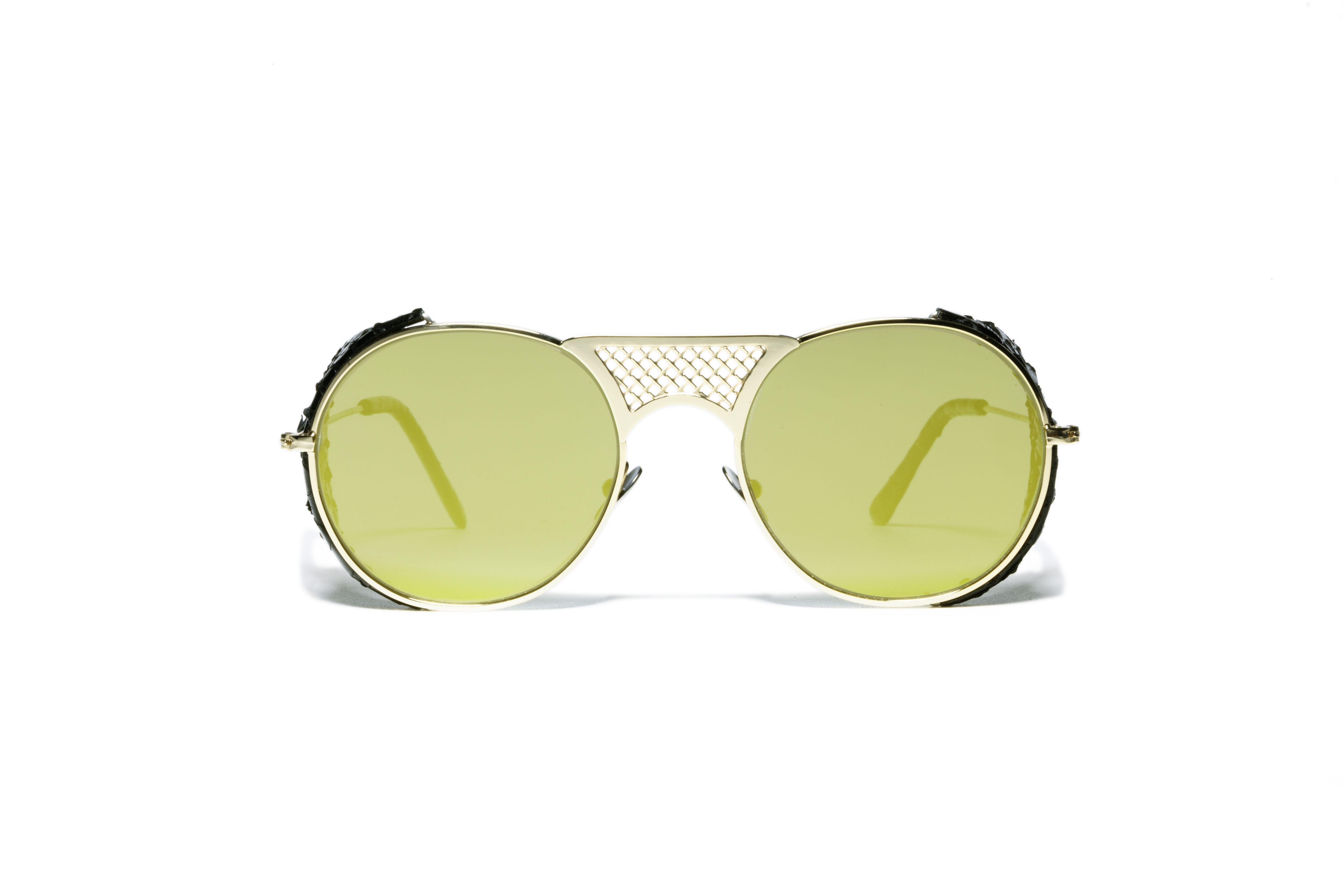 L.G.R sunglasses Mod. LAWRENCE FLAP SNAKE gold | Lawrence | Pinterest