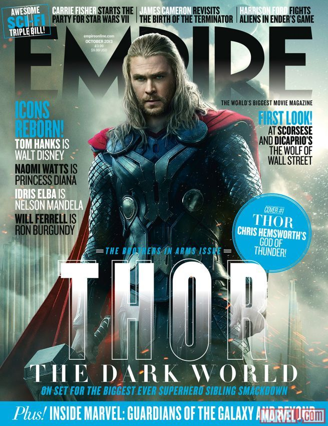 Empire Magazine Limited Edition Cover For Marvels Thor The Dark - Magazines look superheroes real