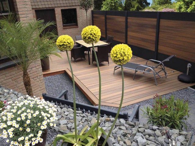 Une clotûre esthétique pour délimiter mon jardin   Moderner ...
