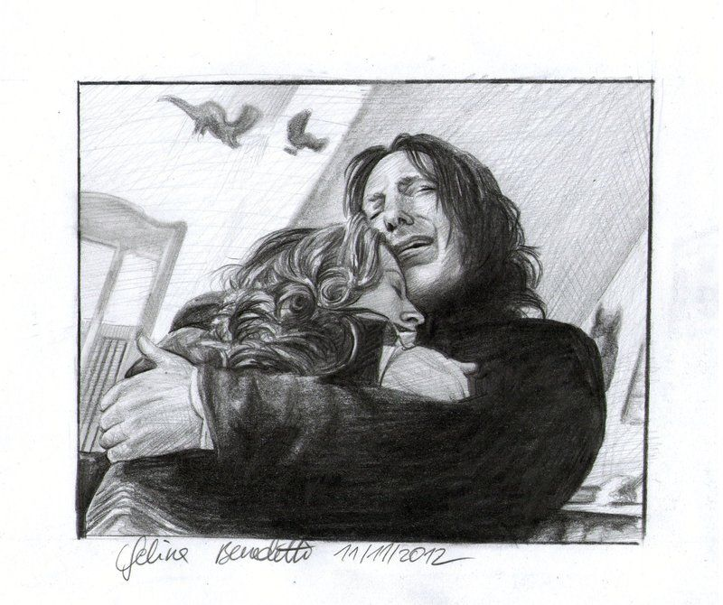 Snape And Lily Drawing I Hold You Harry Potter Art Drawings Harry Potter Portraits Harry Potter Sketch