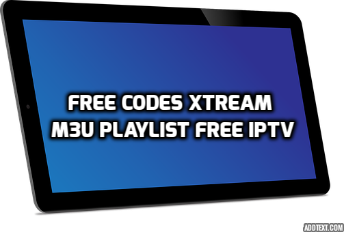 FREE CODES XTREAM AND M3U PLAYLIST FREE IPTV | IPTV | Coding