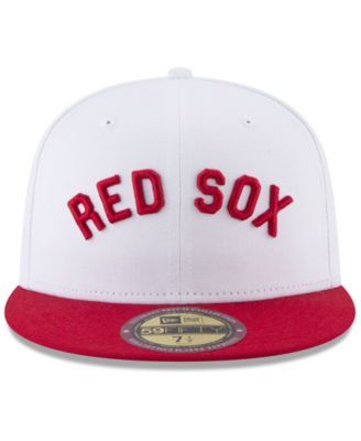 new product d33a8 05266 New Era Boston Red Sox Ultimate Patch Collection World Series 2.0 59Fifty  Fitted Cap - White 7 1 2