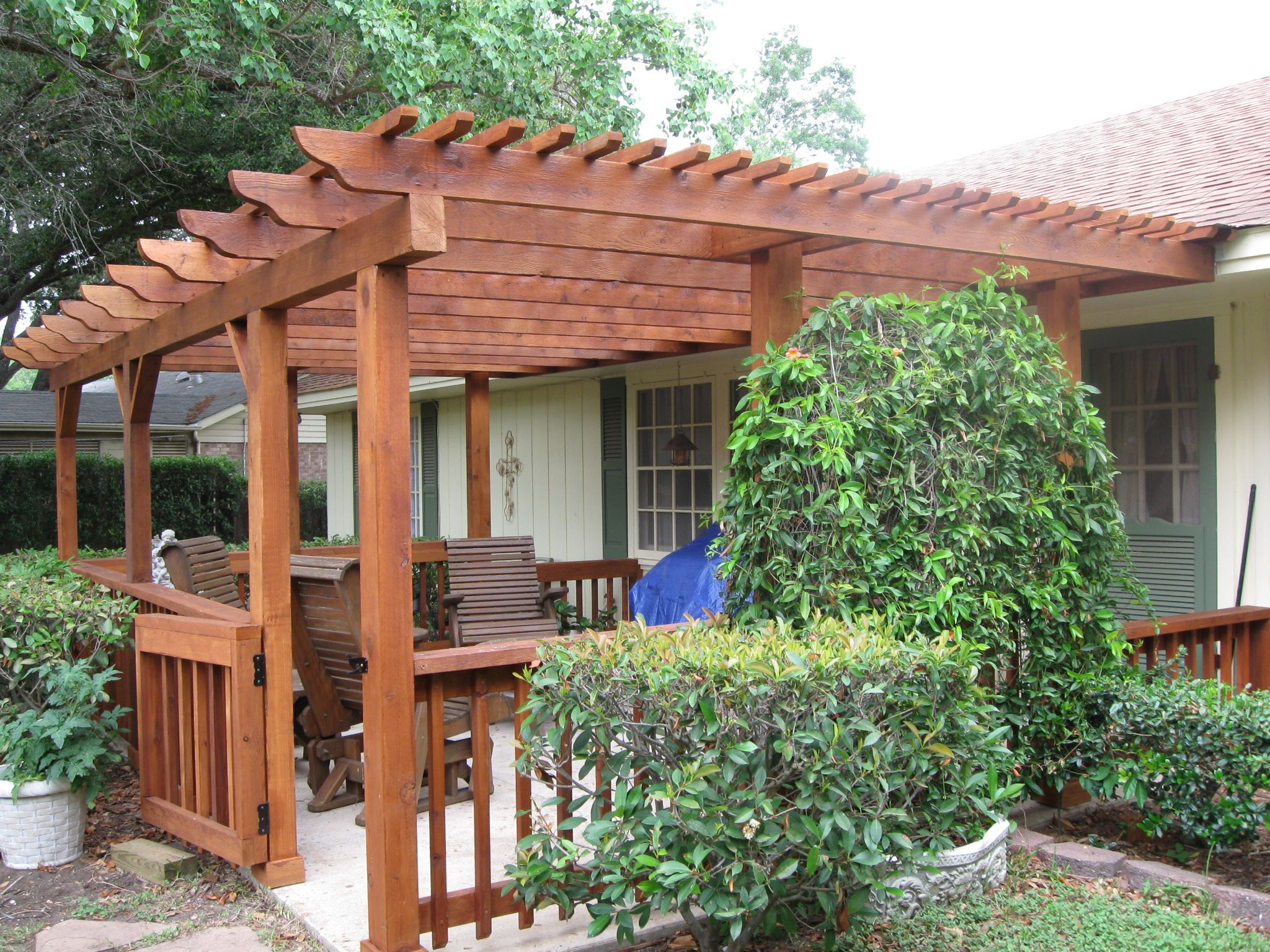 Cost to build pergola - 17 Best Images About Pergola S On Pinterest Lattice Garden Decks And Backyards