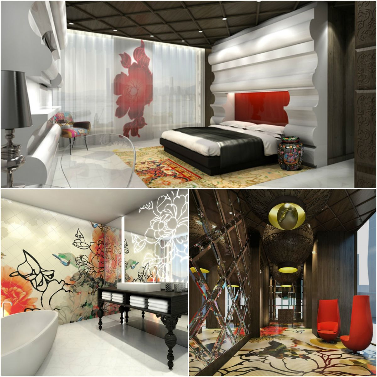 Extravagant Mira Retreat in Hong Kong | houseofdesign.info