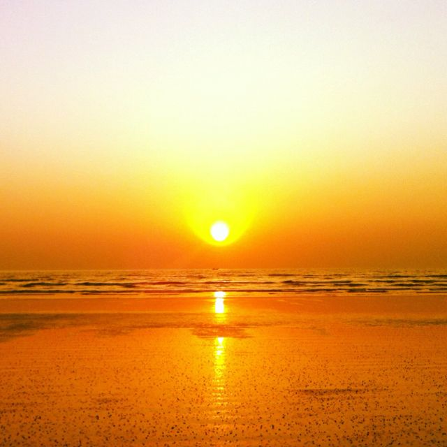 Sunset at Alibaug, near Mumbai, India