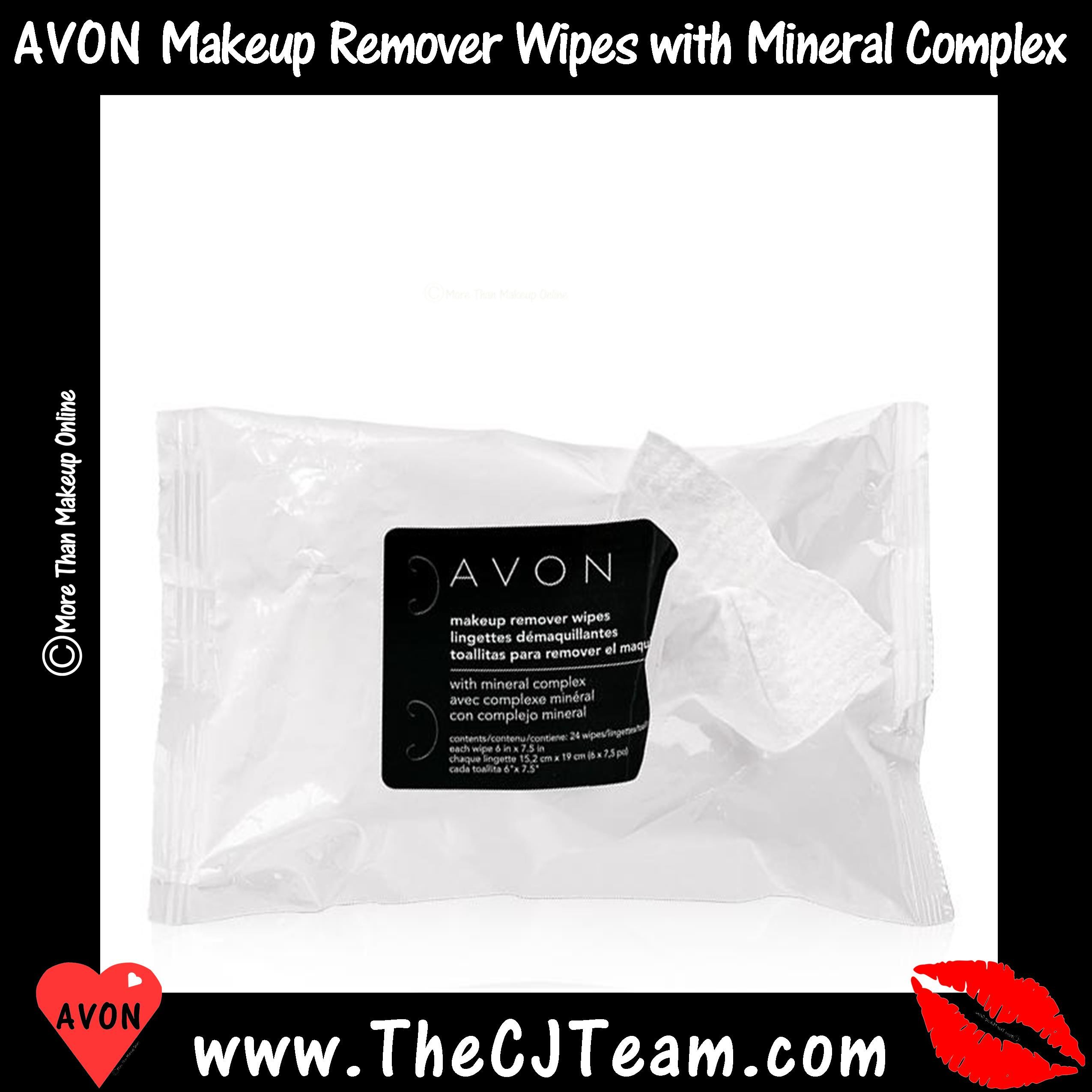 Makeup Remover Wipes with Mineral Complex Avon skin care