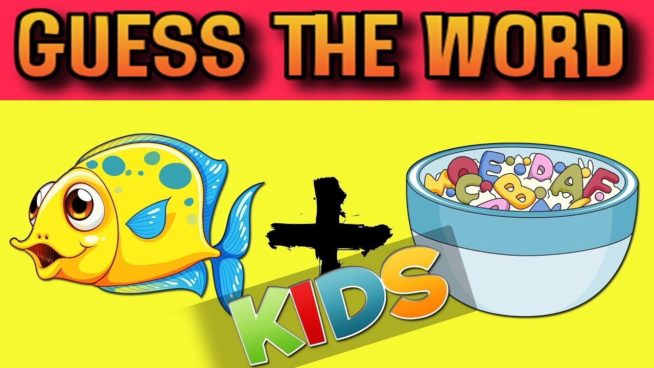 Guess The Word Challenge BRAIN RIDDLES FOR KIDS WITH