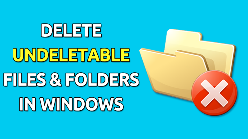 How To Delete Undeleted Folder [Video Tutorial] Blogger