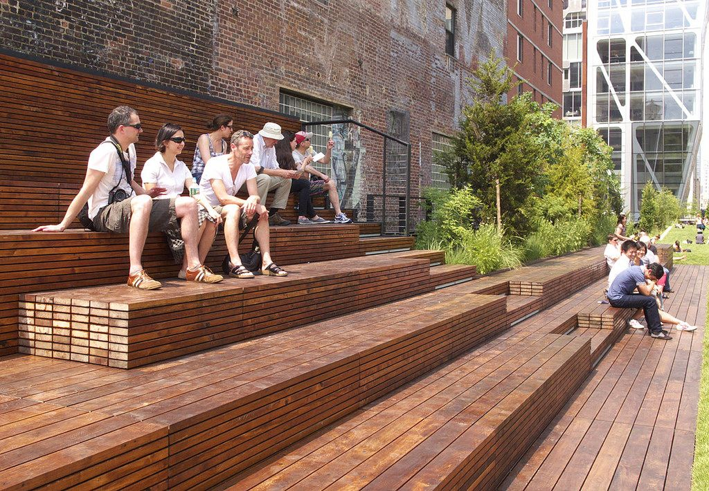 high line section 2 landscape