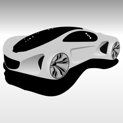 Mercedes-Benz Biome. Free vector illustration