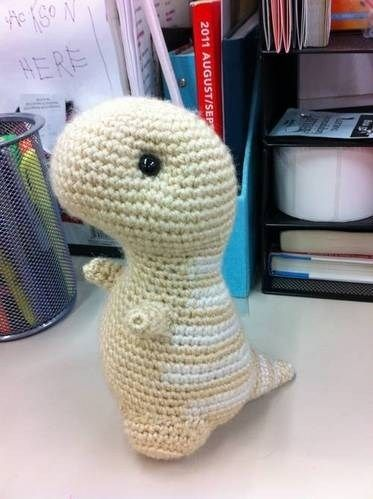 Crochet T Rex Pattern (With images) | Crochet