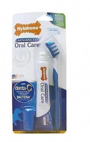Nylabone Advanced Oral Care Natural Dog Dental Kit w/Brush #dentalcare Nylabone Advanced Oral Care Natural Dog Dental Kit w/Brush,  #Advanced #Care #Dental #Dog #Kit #Natural #Nylabone #Oral #wBrush #GumOralCare
