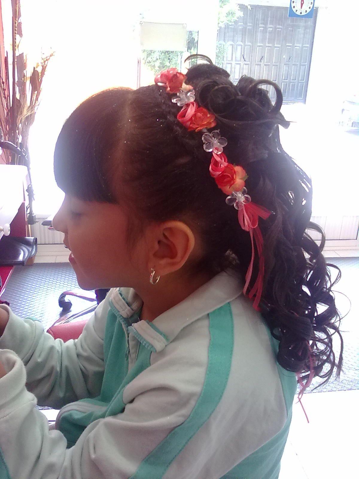 Peinado Que Realice Para Graduacion Para Niña Peinadoscoloruñas