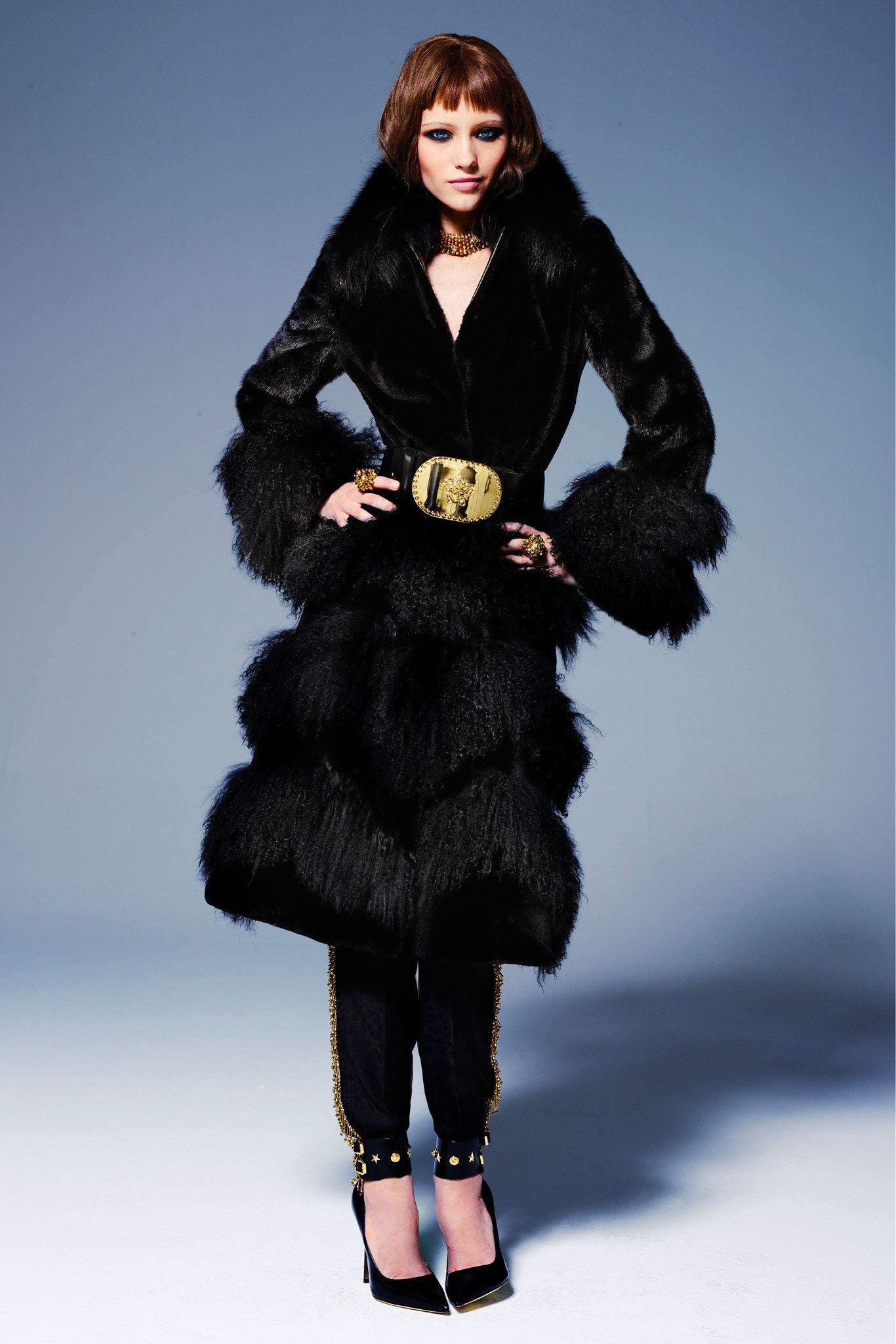 Versace Pre-Fall 2013 Collection Photos - Vogue