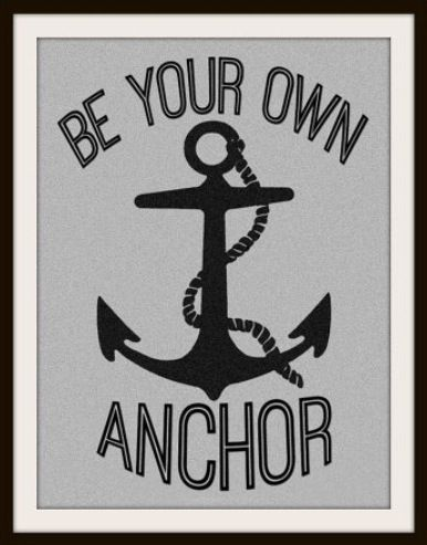 Be Your Own Anchor Teen Wolf Inspired Tattoo Tattoos Teen Wolf