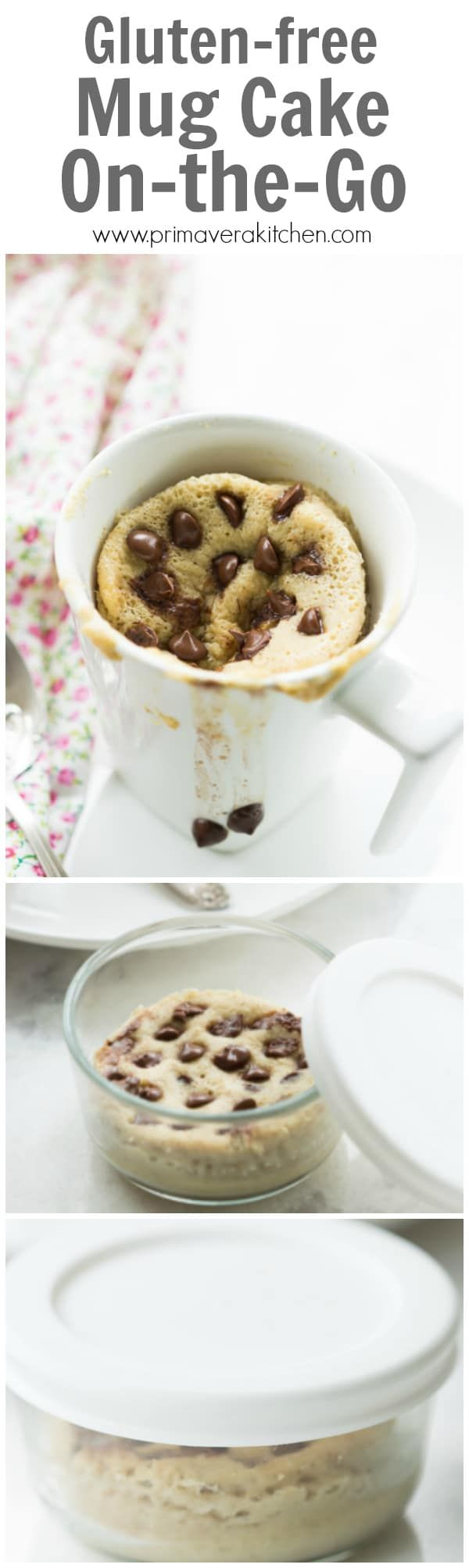 Gluten-free Mug Cake On-the-Go - I called this recipe ...