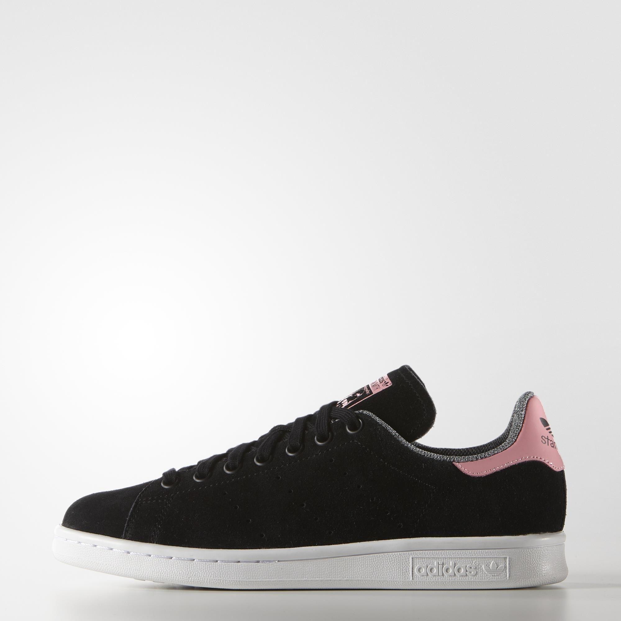 new style bea22 e2034 adidas Stan Smith Shoes - Black   adidas US