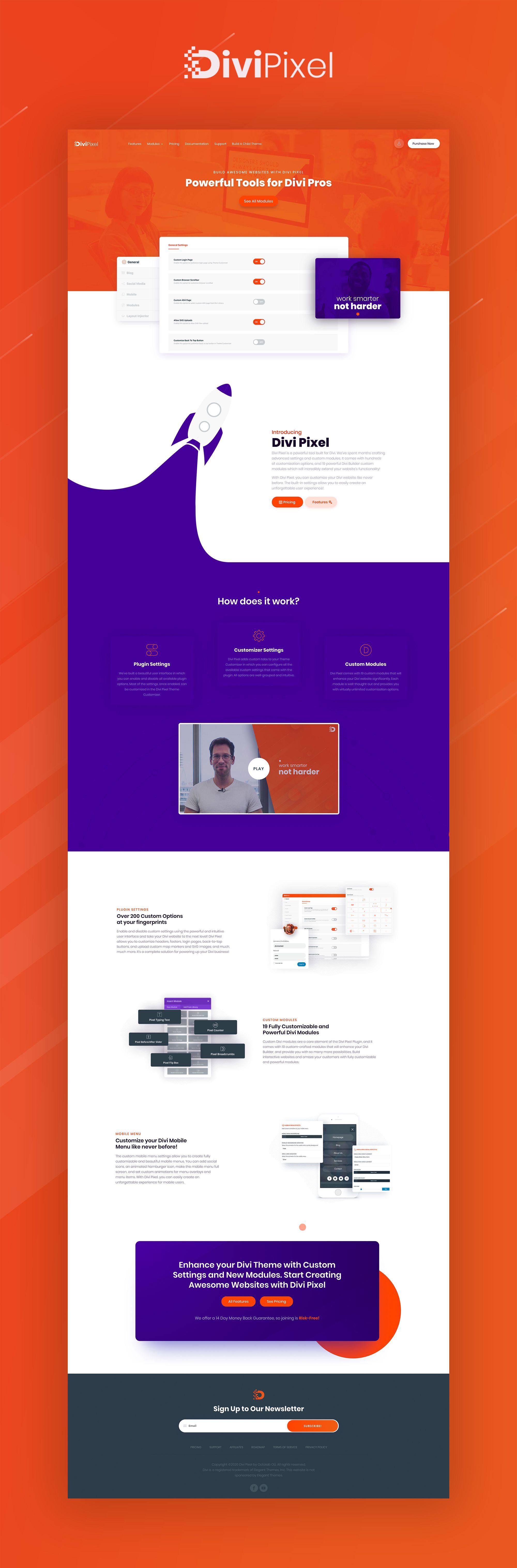 Build Awesome Websites With Divi Pixel In 2020 Web Design Website Design Inspiration Web App Design