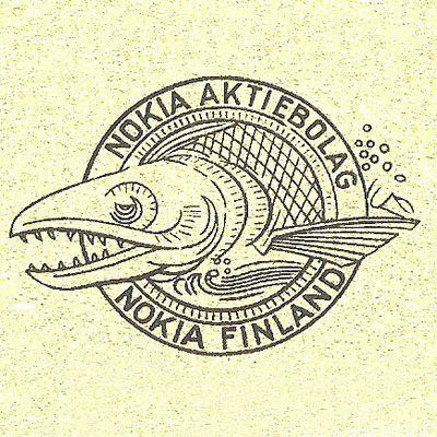 Nokia-virta koukutti heidät nimeämään yhtiönsä Nokia Osakeyhtiöksi. Idestam istuskeli virran rannalla start-uppiaan suunnittelemassa ja sai yhtiön logoon idean vedestä ponnistaneesta lohesta.