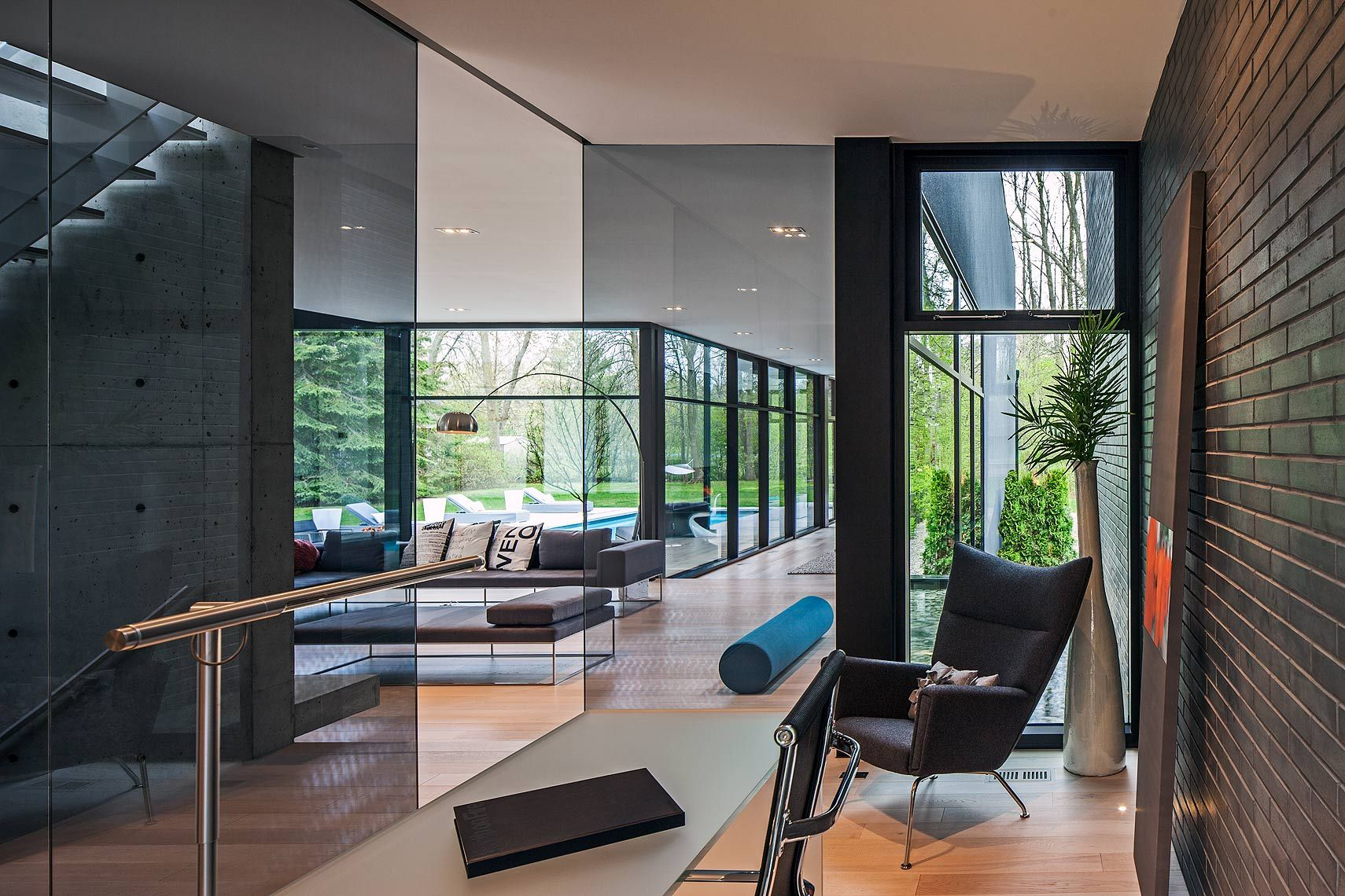 Cutting edge family home in South West Oakville, designed by Guido Costantino Architect, Interior.