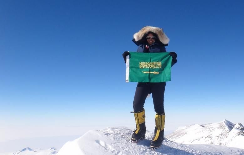 Almoharrak Mabrouk Ascend Everst First Saudi Woman Mount Raha Alf Toraha Almoharrak First Saudi Woman To Ascend Moun Climbing Everest Everest Women