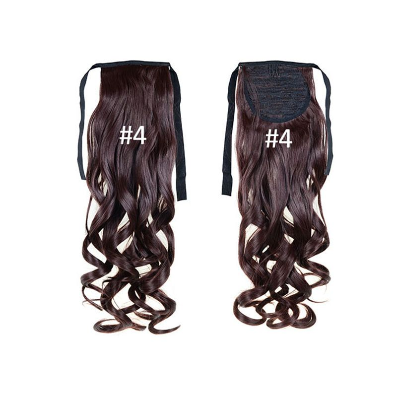 Real Clip In Hair Extensions Wrap Around Ponytail Clearance Sale