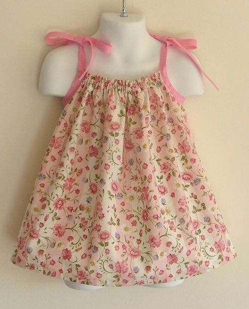 ideas dress pattern free clothing patterns pillow case dresses baby