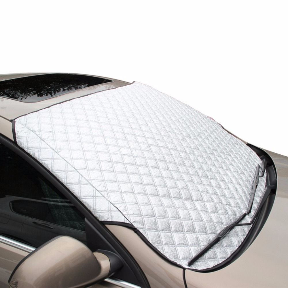 Car Windscreen Heat Insulation Folding Sunshade Snow Protection Cover 100 X 147cm With Advanced Water Resi Windshield Cover Car Windshield Cover Car Windshield