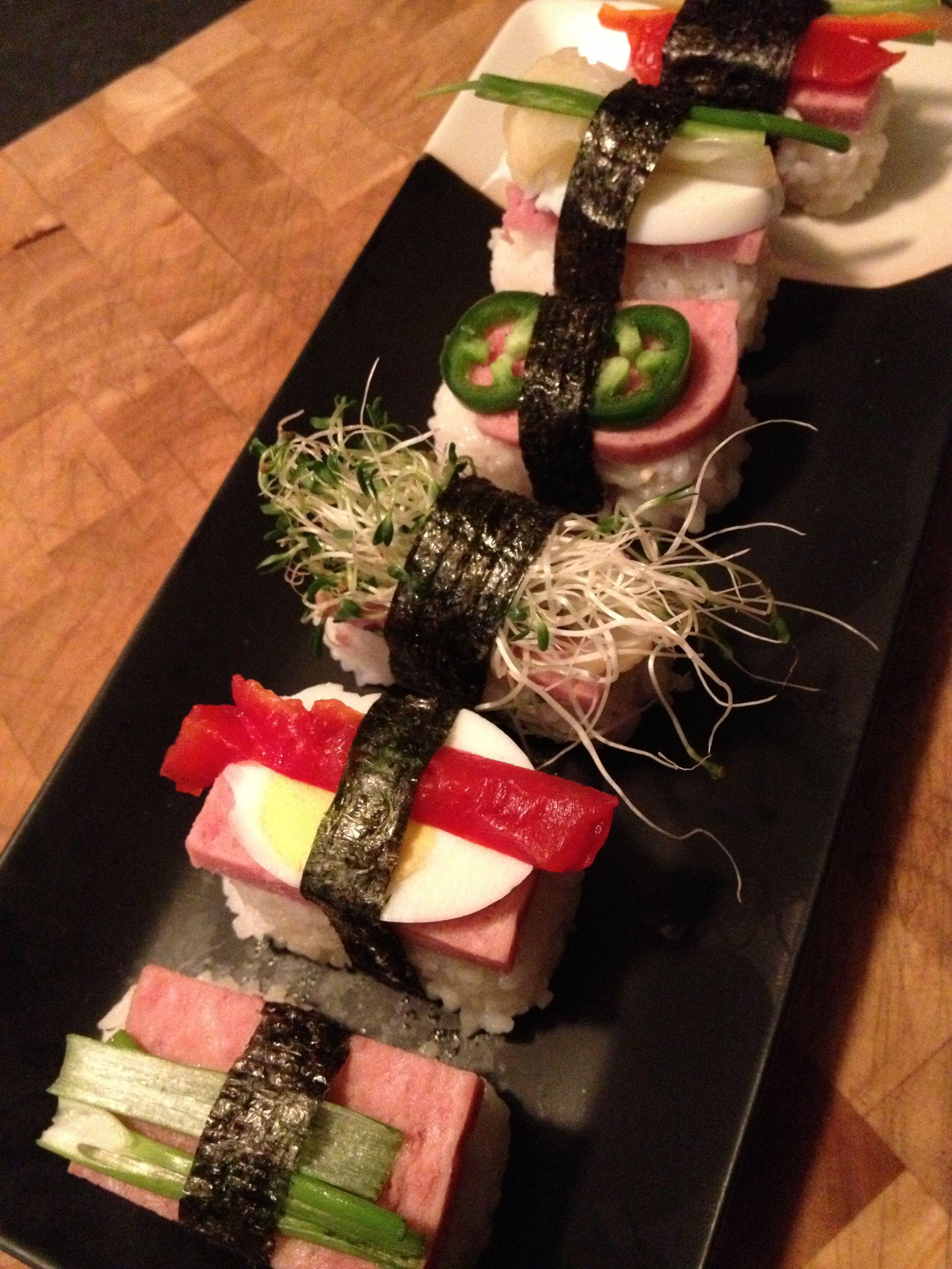 SPAM sushi!